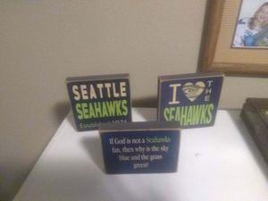 🏈 Seahawks signs 🏈 for Sale in Lake Stevens, WA