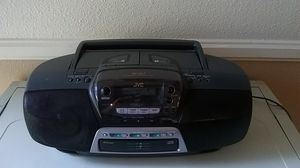 JVC Portable Tuner, 3 CD changer and Dual Casette,RC-QC7, tested-working. for Sale in Anaheim, CA