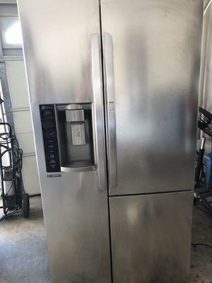New LG SS door in door Fridge. Excellent condition. Just lowered price for Sale in North Las Vegas, NV