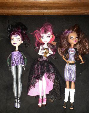 Monster High Dolls for Sale in San Bernardino, CA