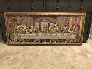 Framed Last Supper II for Sale in Chula Vista, CA