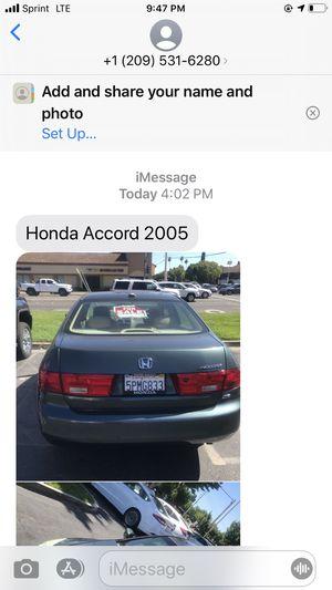 2005 Honda according for Sale in Modesto, CA