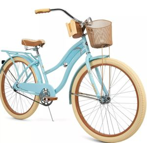 """New Huffy 26"""" Womens Nel Lusso Cruiser Bike with Perfect Fit Frame, Blue for Sale in Medford, MA"""