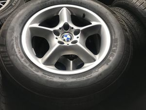 BMW X5 RIMS & TIRES SET for Sale in Hayward, CA