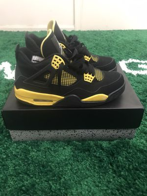 NIKE AIR JORDAN 4 THUNDER OG SIZE 8 WORN CHECK MY OTHER LISTINGS! for Sale in Fort Washington, MD