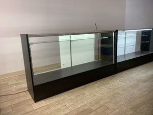 Tw display cases available. Lights and cord. $350 for Sale in Belleair, FL