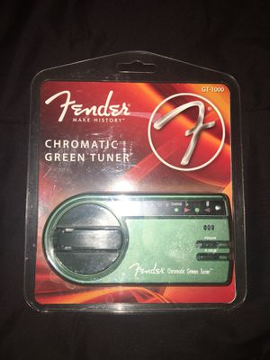 Fender GT-1000 Green Kinetic Tuner for Sale in Walcott, IA
