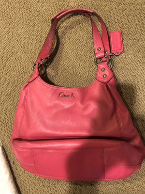 Coach Fuschia Pink Leather Hobo Bag for Sale in New Albany, OH