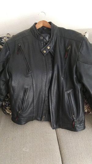 Leather biker jacket for Sale in Sanger, CA