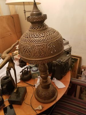 Vintage copper lamp for Sale in Forest Heights, MD