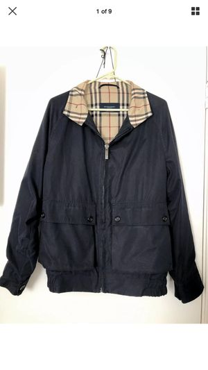 Men's Burberry Black Jacket - sz LARGE for Sale in San Francisco, CA