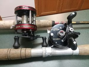Abu Garcia and lews speed spool for Sale in Pineville, LA