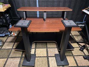 Studio Desk & Monitor Stands for Sale in San Diego, CA