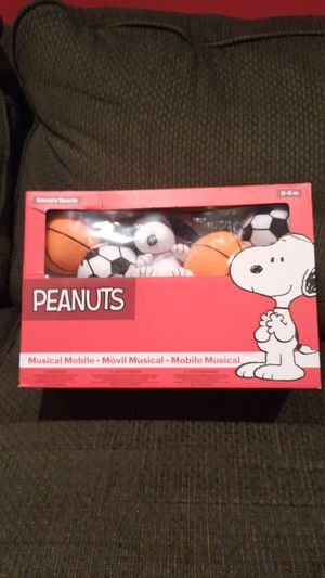 Peanuts Snoopy Sports Musical Baby Crib Mobile NEW for Sale in Old Bridge, NJ
