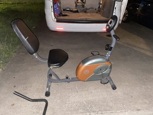 Battery operated stationary exercise bike for Sale in Combine, TX