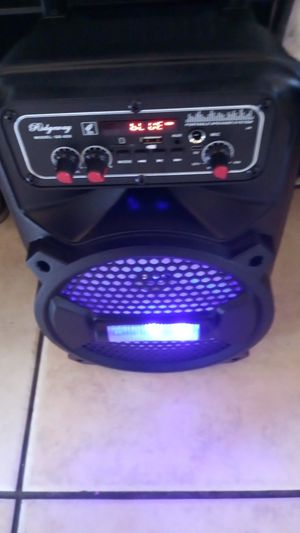 Brand New speaker in the box and has Bluetooth fm am for Sale in Phoenix, AZ