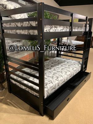 TWIN/TWIN BUNK BEDS W MATTRESSES INCLUDE D for Sale in Montclair, CA