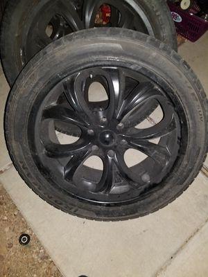 Black 22in Rims for Sale in Henderson, NV