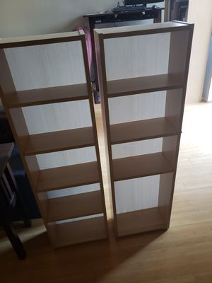 Two DVD racks/bookshelves for Sale in Lafayette, CA