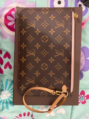 Louis Vuitton neverfull pochette gm new for Sale in Sterling, VA