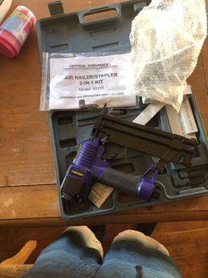 Air Nailer/Stapler 2 in 1 kit for Sale in Bend, OR
