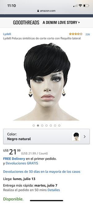 Short black wig for Sale in Houston, TX