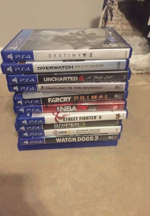 PS4 games for Sale in Coconut Creek, FL