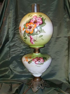 Vintage gone with the wind wind lamp for Sale in Port Hueneme, CA