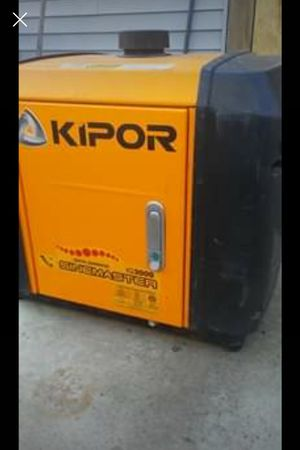 Kipor 3000 watt inverter generator for Sale in Wrentham, MA