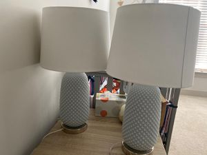Lamps, 3 coffee tables (two smaller and one larger) rug for Sale in VA, US