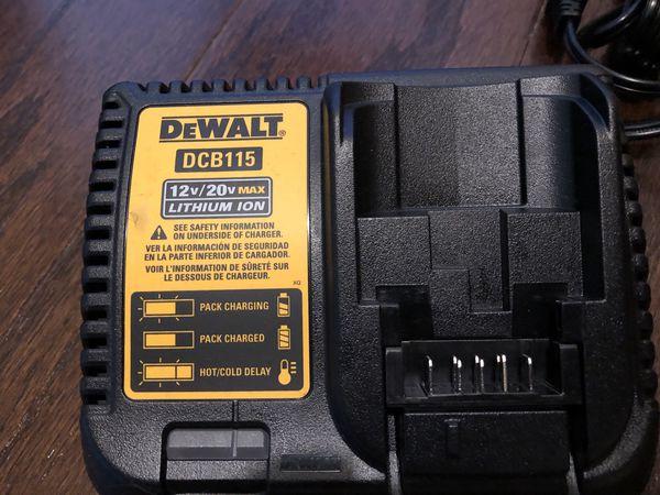 Dewalt 12v/20v charger