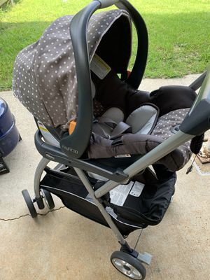 Chicco key fit 30 infant car seat & Chicco caddy key fit stroller for Sale in Fort Campbell, KY