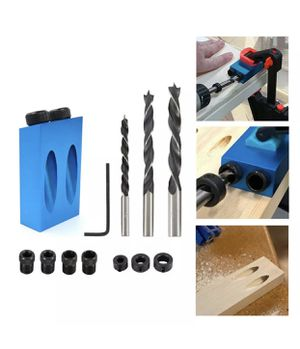DIY Pocket Hole Jig Adapter Drill Set - 14 Pieces in a Box for Sale in Austin, TX