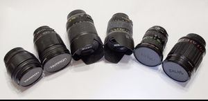 Nikon lenses for sale from $50.00 for Sale in Tracy, CA