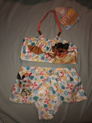 Disney's Moana 2-pc bathing suit size 5/6 with tags for Sale in Miami, FL