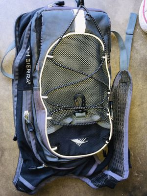Hiking backpack with water bag inside for Sale in Ontario, CA