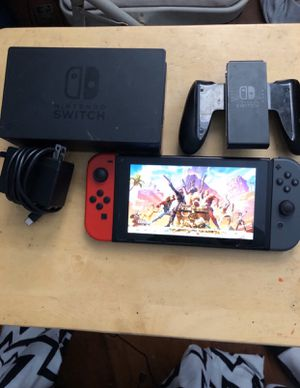 Nintendo Switch V2 Plus 3 Games! for Sale in Fresno, CA