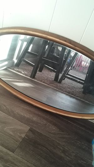 Gold Oval mirror for Sale in Modesto, CA