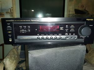 Optimus Professional Series Audio/Video Receiver with HTS-105-SW- WOOFER for Sale in Avon Park, FL