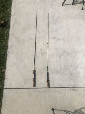 Vintage fishing rods for Sale in Rancho Cucamonga, CA