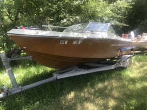 1988 Cobia sport boat , and trailer for Sale in Baytown, TX