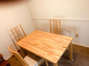 Dinning table with 3 chairs .. for Sale in Richmond, VA