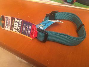 "20"" teal dog collar for Sale in Orlando, FL"