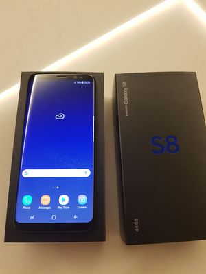 Samsung galaxy S8 new phone, Factory unlocked with warranty for Sale in Bethesda, MD