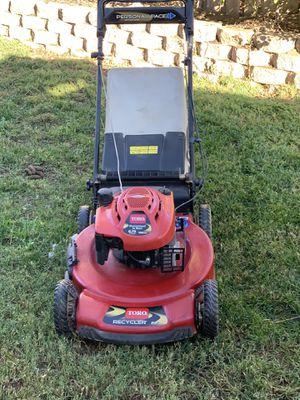 Toro self propelled lawnmower for Sale in Romoland, CA