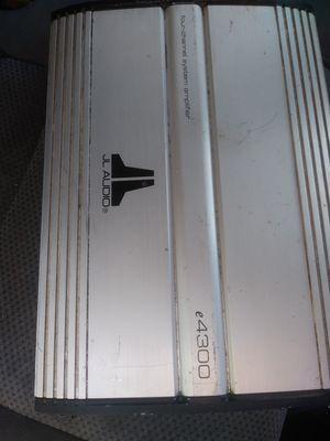 JL audio amp for Sale in Stockton, CA