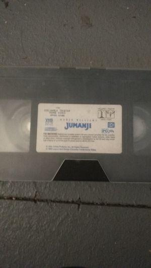 1995 Jumanji vhs for Sale in Missoula, MT