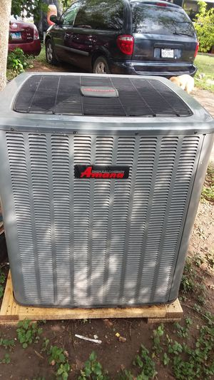 Amana condenser unit for central air for Sale in La Feria, TX