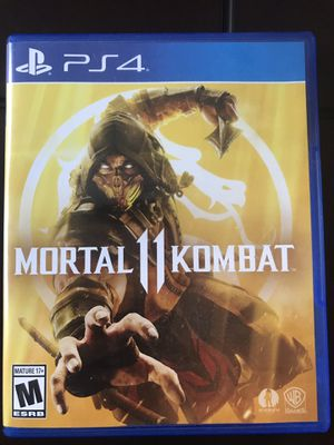 Mortal Kombat 11 - Played Once for Sale in Tracy, CA