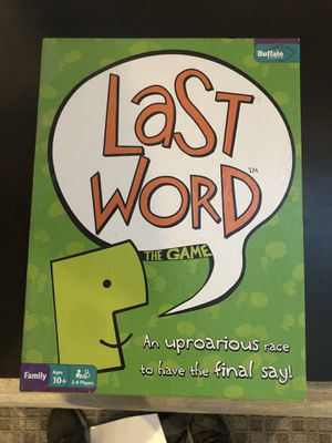 Board Game Last Word for Sale in Annandale, VA